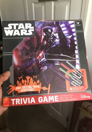 Star Wars trivia game for Sale in Watsonville, CA
