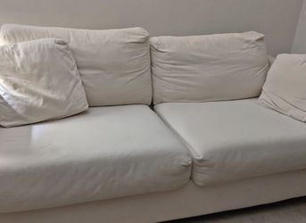White/cream Couch for Sale in Media,  PA
