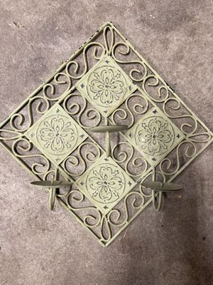 Candle holder wall sconce for Sale in Tacoma, WA