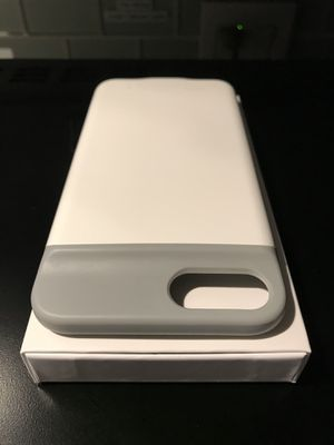 IQ+ White/Grey Battery Case for iPhone + for Sale in Tempe, AZ