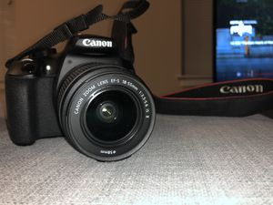 Canon EOS Rebel T6 and Cannon EF 50mm for Sale in Washington, DC