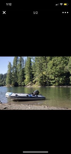 Inflatable boat give me a price for Sale in Vancouver,  WA