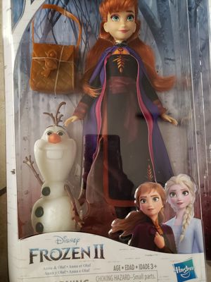 Frozen 2 Anna & Olaf Set for Sale in Bell, CA