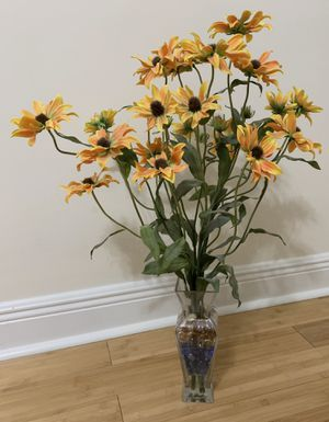 Artificial Flowers with Vase for Sale in Metairie, LA