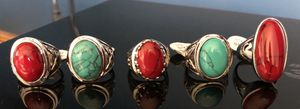 Sz 9 Sterling Silver Turquoise Rings-NWT for Sale in Granville, OH