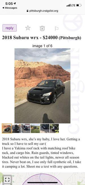 2018 Subaru wrx for Sale in Pittsburgh, PA