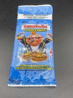 2021 Topps Garbage Pail Kids Food Fight! 22 Card Pack Exclusive Pack for Sale in Peoria,  IL