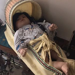 Vintage Doll And Papoose for Sale in Glendale, AZ