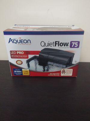Aqueon quiet flow 75 led pro for Sale in Potterville, MI