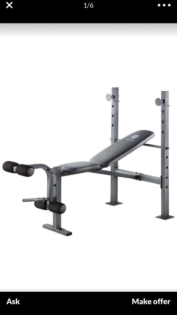 weight bench new never used