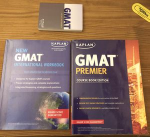 GMAT books for Sale in Cleveland, OH