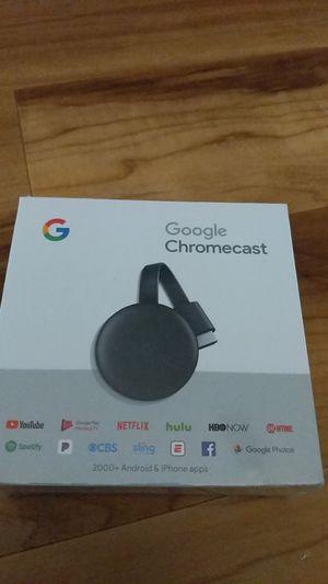 Google Chromecast Black for Sale in St. Petersburg, FL