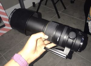 Sigma 135 to 400mm Amazing zoom no scratch almost new for Sale in Orange, CA