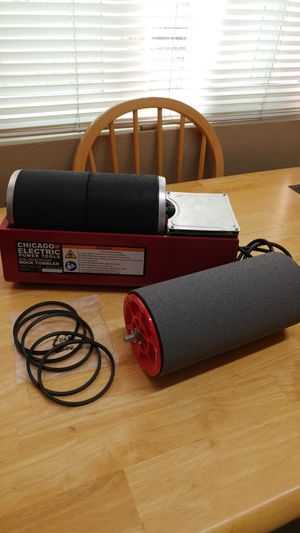 Wet and Dry Tumbler (Chicago Electric Power Tools) for Sale in National City, CA
