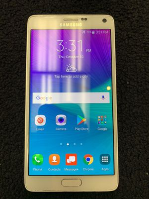 Samsung Galaxy Note 4 for Sale in Cuyahoga Falls, OH
