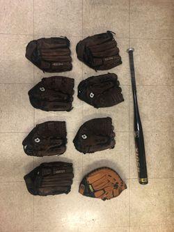 Baseball gloves (Vortex, Wilson, Rawlings) for Sale in Alexandria,  VA