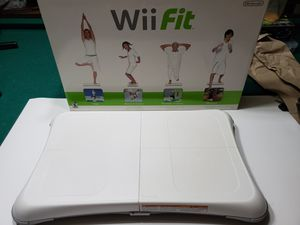 Wii fit balance board with 2 games. for Sale in Springfield, VA