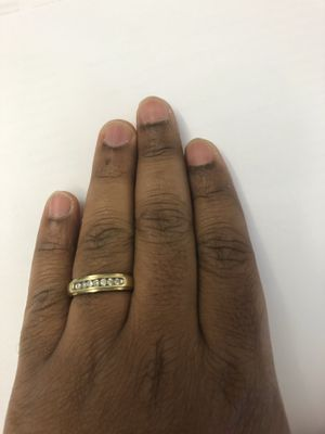 Gold studded Diamond ring for Sale in Portland, OR