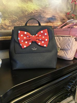 Kate Spade backpack Minnie Mouse for Sale in Riverside, CA
