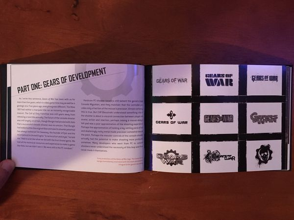 The Art and Design of Gears of War book