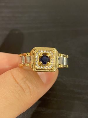 Unisex 18K Gold plated Chain Design Ring -Code BLU90 for Sale in Sacramento, CA