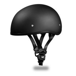 Daytona Skull Cap Dull Black Matte Motorcycle Helmet for Sale in Marietta, GA