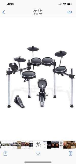 Alesis 5 piece electric drum set. Brand new for Sale in Springfield, VA