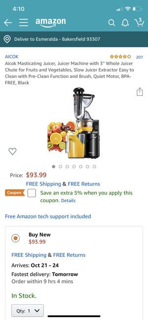 Juicer for Sale in Bakersfield, CA