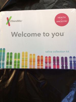 23andMe DNA Test Personal Genetic Service 90+Reports and atHome Saliva Kit for Sale in Gardena, CA