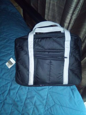 Quilted Laptop Bag Black W/silver for Sale in Grand Junction, CO