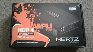 HERTZ HCP-4 ,4 - CHANNEL AMPLIFIER NEW for Sale in Phoenix, AZ