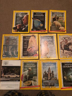 1966 National Geographic Magazines (11) for Sale in Winston-Salem, NC