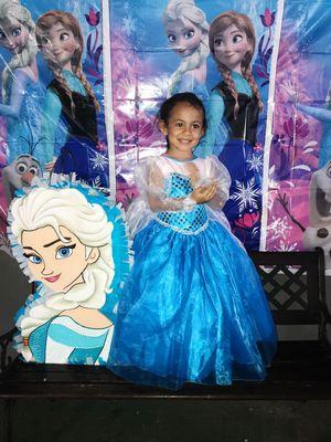 Princess 👸 costume 👗 dress 🎃 Halloween 👻 Disney Elsa, Belle, Ariel, Aurora, Snow White, Cinderella, Rapunzel, Sofia, Minnie, tinker, Unicorn for Sale in Mansfield, TX