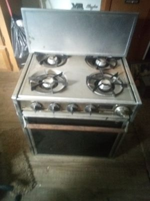 Gas stove out of camper for Sale in Lecompton, KS