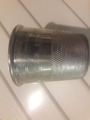 1930's Pewter Shot Glass for Sale in VLG WELLINGTN, FL