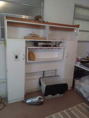 Twin Bed Wall Unit Frame/Boxspring for Sale in Tampa, FL