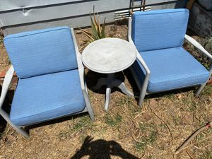 Three-piece resin patio furniture set for Sale in San Diego, CA