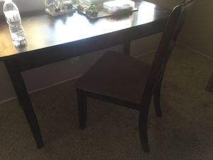 2 Drawer Desk with Chair for Sale in Modesto, CA