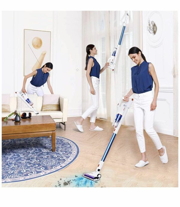 V10 Cordless Vacuum Cleaner, 5-in-1 Lightweight Stick Vacuum 22KPa with Mite Remover