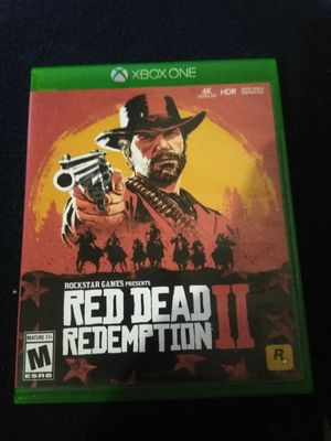 Red Dead Redemption 2 Xbox one for Sale in Everett, WA