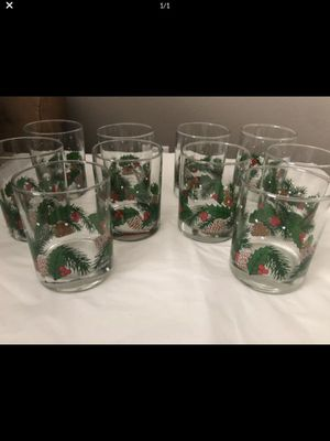 Set of 10 Christmas tumblers for Sale in Battle Ground, WA