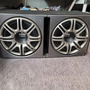"""Polk Audio db1222Ported enclosure with two 12"""" db Series subwoofers for Sale in Anaheim, CA"""
