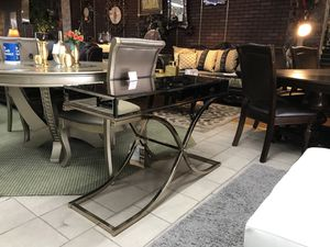 Gold console table for Sale in Dearborn, MI