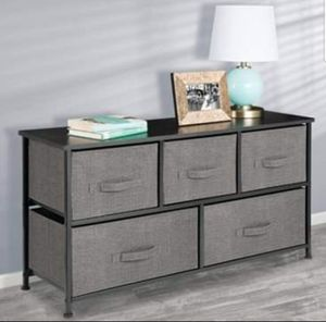 Dresser Storage Bedroom Shelves Table Cubby Table Shoe Rack Toy Organizer Bins Steel Frame Wood Top for Sale in Kingston, PA