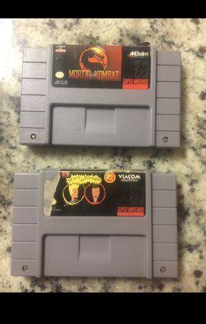 Super Nintendo SNES games for Sale in Chantilly, VA