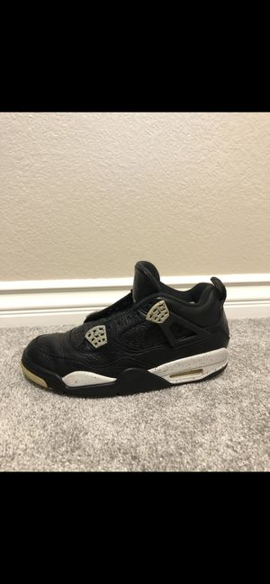 Jordan Oreo 4's size 9 comes with laces for Sale in Fresno, CA