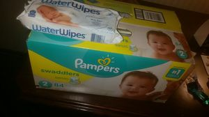 Brand new Pamper swaddlers and wips for Sale in Portland, OR