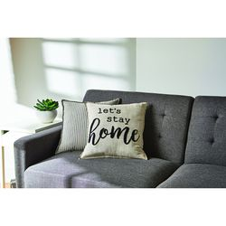 Lets stay home pillow for Sale in Herriman,  UT