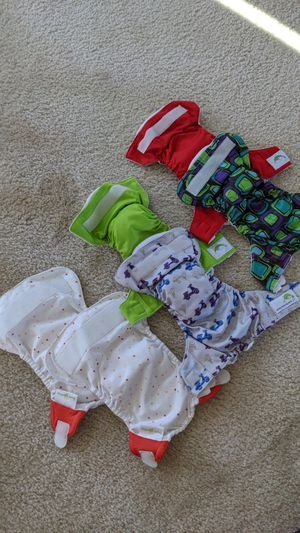 6 newborn cloth diapers for Sale in Goodyear, AZ