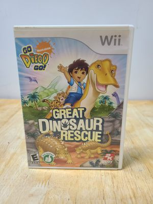 Go Diego Go great dinosaur Rescue Wii for Sale in New York, NY